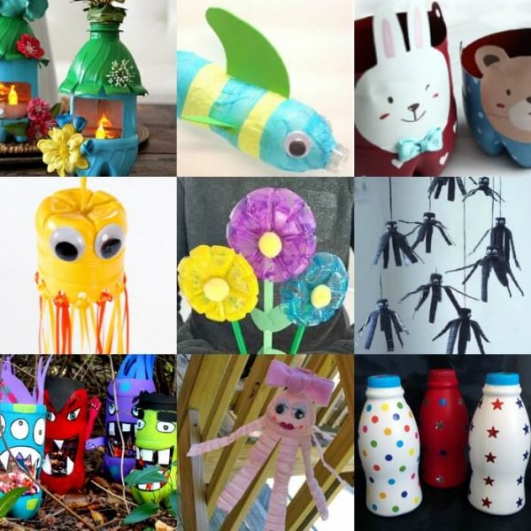 12 Water Bottle Crafts for Kids