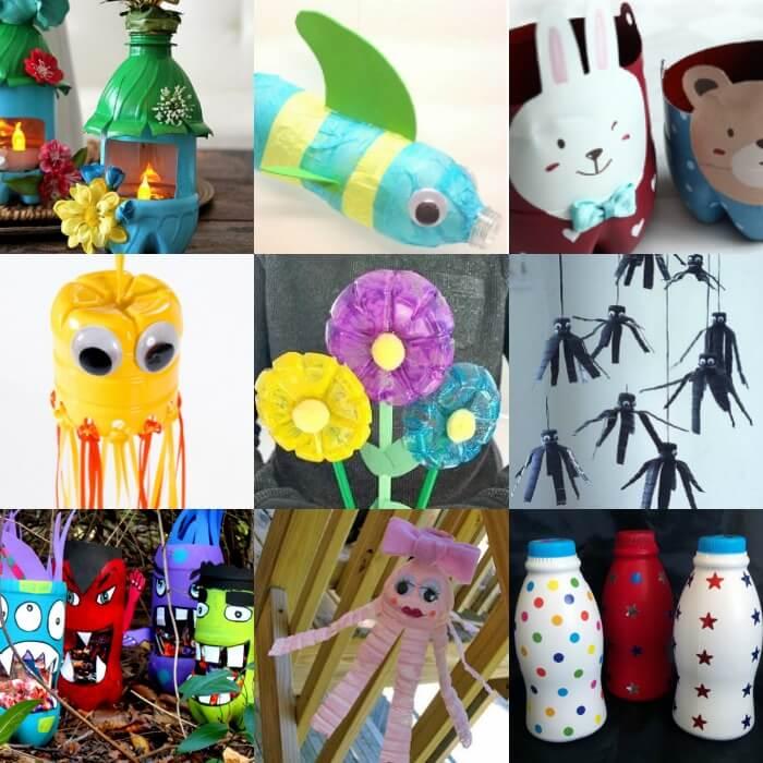 Water Bottle Crafts For Kids Easy Plastic Bottle Crafts