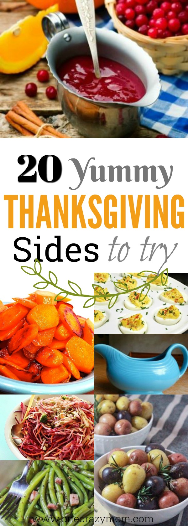 We have 20 Easy Thanksgiving Side Dishes sure to impress while being very simple to make! From old favorites to new ideas, we have something for everyone.