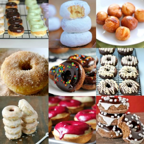 25 Homemade Donut Recipes to Make your Mouth Water