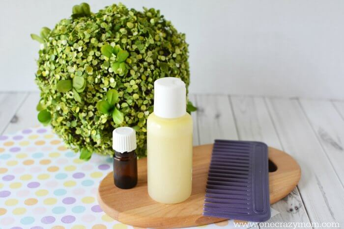 This DIY Shampoo is so easy to make and the lavender will leave your hair smelling amazing. Try this all natural shampoo that works great for hair growth and for oily hair. This is the best DIY shampoo recipe! #onecrazymom #DIYShampoo