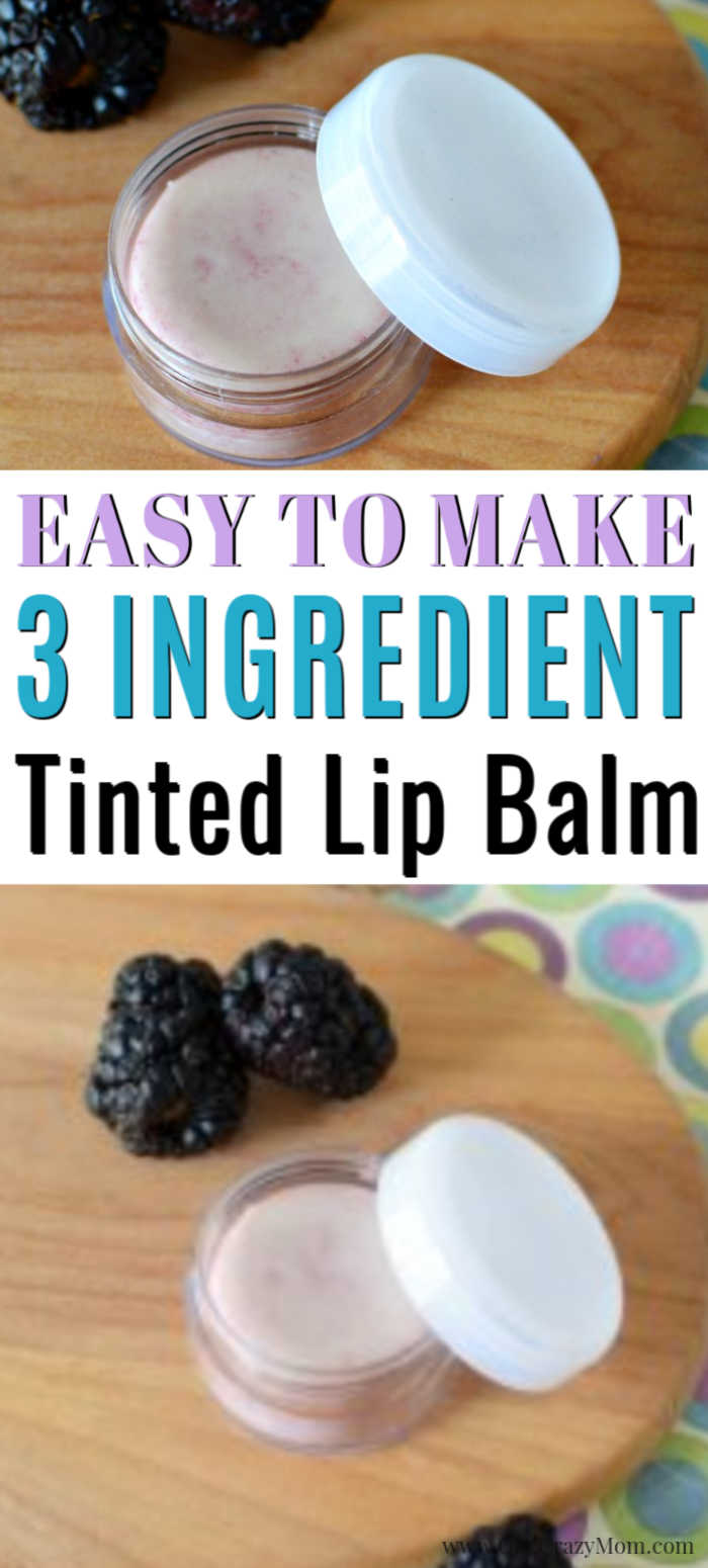 We have a super easy DIY today to learn how to make tinted lip balm. Not only is this so moisturizing but gives your lips a beautiful tint naturally.