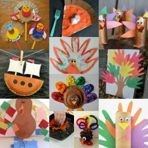 20 Easy Thanksgiving Crafts for Toddlers