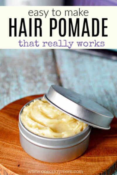 Learn how to make homemade hair pomade for a fraction of the cost of store bought. DIY hair pomade is natural and chemical free. Try natural hair pomade.