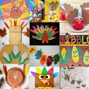 15 Thanksgiving Craft Ideas