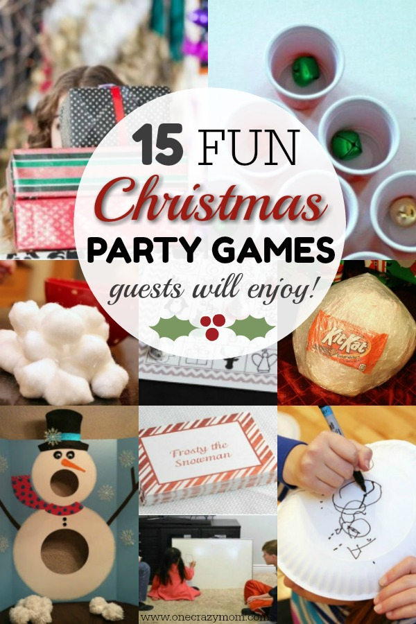 Fun Christmas Party Games - Christmas Games Ideas for Everyone!