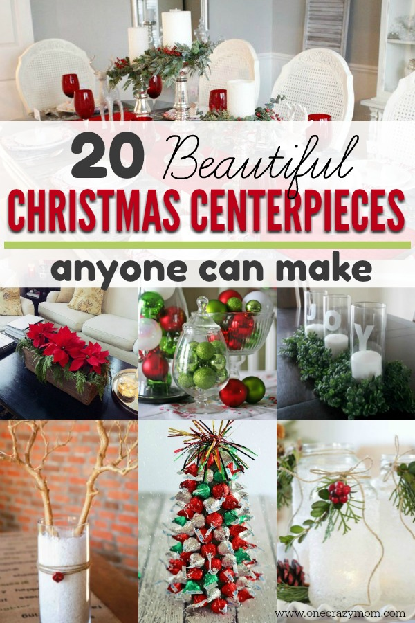 Christmas Centerpieces 20 Diy Christmas Centerpieces For