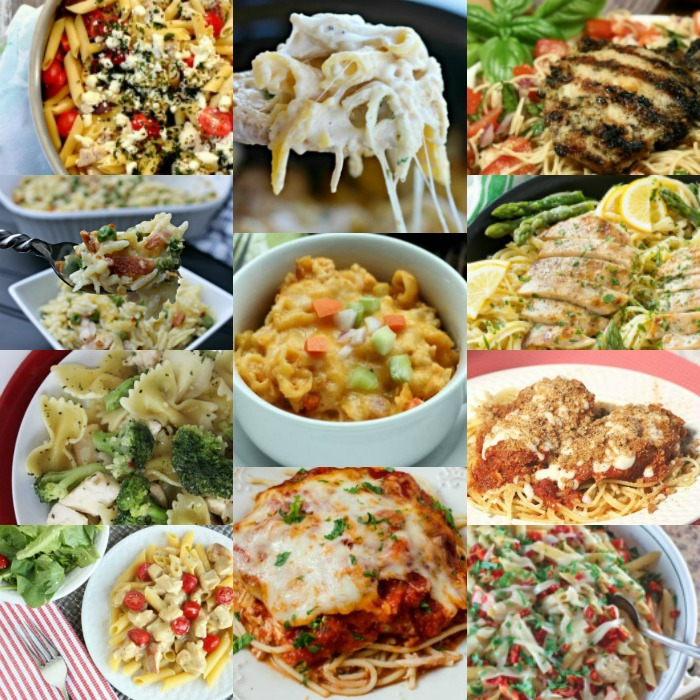 Make dinner time a breeze with these easy chicken pasta recipes. Try over 20 chicken and pasta dishes everyone will love. Get dinner on the table fast!