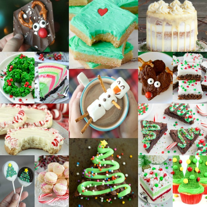 Try these easy Christmas desserts for your next holiday party. 25 easy Christmas treats everyone will love. Simple and easy Christmas dessert recipes.