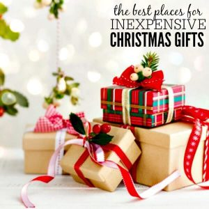 10 Surprising Places to Shop for Inexpensive Christmas Gifts
