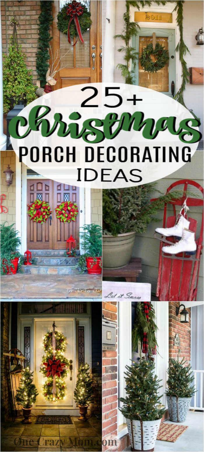 Christmas Porch Ideas 25 Christmas Porch Decorating Ideas