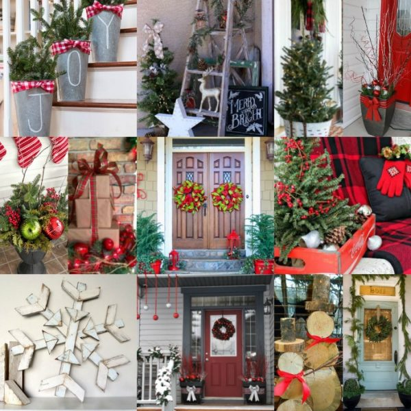 Beautiful Christmas porch decorating ideas to Inspire You