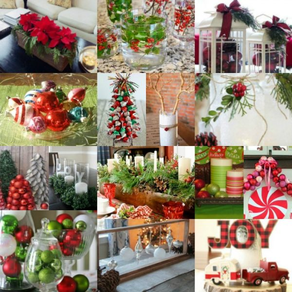 Beautiful Christmas Centerpieces Anyone Can Make