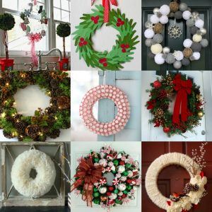 15 Easy DIY Christmas wreath Ideas to Try this Year