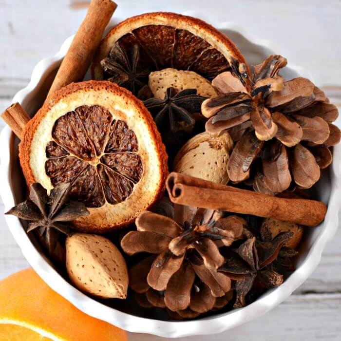 Learn how to make homemade Christmas Potpourri that smells amazing. It is so easy! Find out how to make potpourri with very little effort or expense.