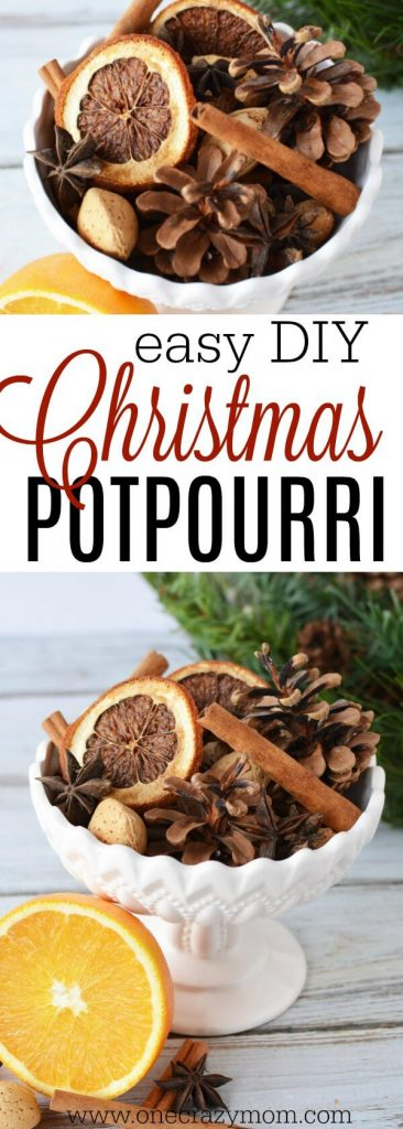 Try this Homemade Christmas potpourri. DIY Christmas potpourri that is so easy. Cinnamon potpourri that smells amazing. You will love this diy potpourri.