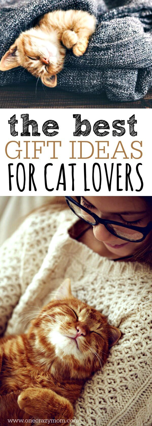 We have all of the best gifts for cat lovers. 20 unique gift ideas for cat lovers they will love! Find the best presents for cat lovers here!