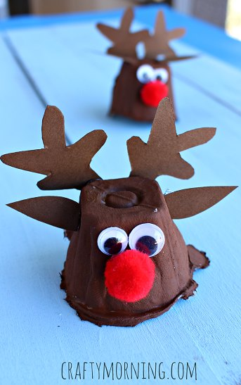 Find Easy Christmas Crafts for kids including preschool Christmas crafts.They will love these holiday crafts for kids.20 Christmas craft ideas for children.