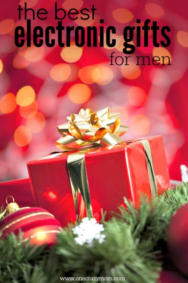 Find the best Electronic Gifts for Men. 20 gift ideas for men. Tech Gifts for men that won't break the bank.Gadgets for men they will love for Christmas.