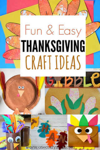 Try these simple Thanksgiving Craft Ideas. From festive garland to turkey hand prints, you will find Thanksgiving crafts ideas for all ages to enjoy.