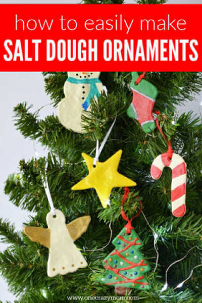 Make special memories with this simple and fun Salt Dough Ornament Recipe. Learn how to make salt dough ornaments so easy the entire family can help!