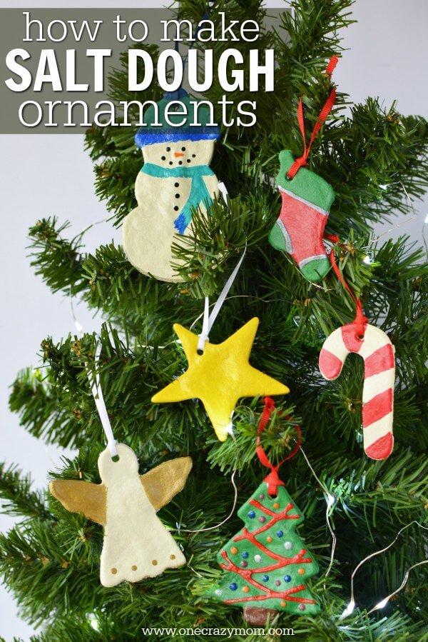 Salt Dough Ornaments - Easy Salt Dough