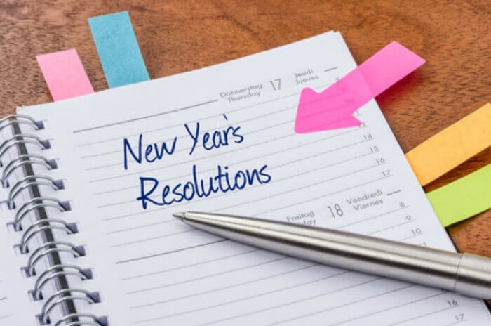 Find New Years Resolution goals to get the year started right! 5 New Year Resolution Ideas you can do. New Years Resolution Ideas for the new year.
