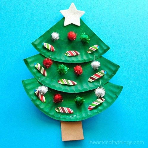 christmas paper craft ideas easy crafts for 20 craft ideas 3638