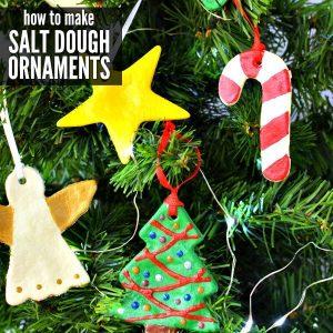 How to make Salt dough ornaments easily