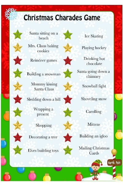Fun Christmas Party Games - Christmas