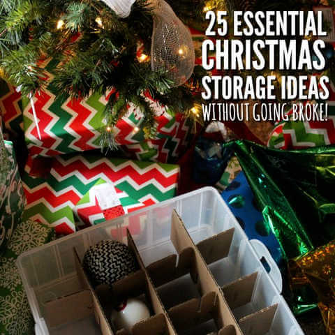 25 Creative Christmas Storage Ideas