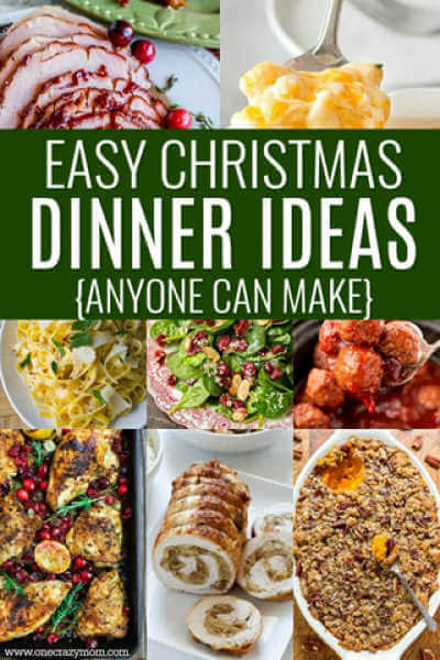 Get ready for your holiday meal with these easy Christmas dinner ideas. 30 Christmas dinner ideas sure to impress. Find Christmas dinner menu ideas.