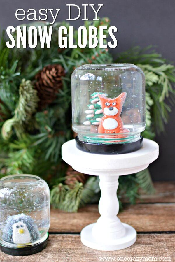 How to Make a Snow Globe - Make your own snow globe!