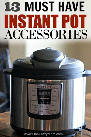 Here are the best Instant Pot Accessories. These instant pot pressure cooker accessories are a must have! 13 very useful accessories for the Instant pot to help you make the best instant pot recipes. So handy!