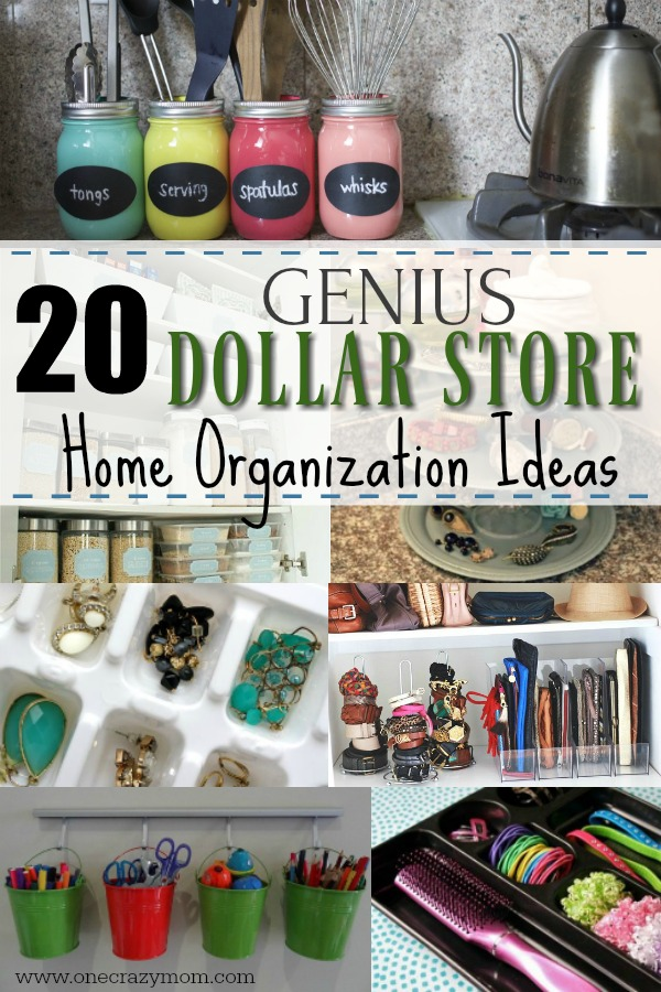 Dollar Store Home Organization Ideas 20 Amazing Ideas