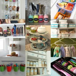 20 GENIUS Dollar store Home Organization Ideas