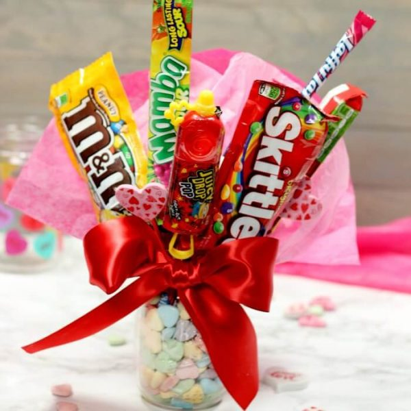 Diy Bouquet Gift Basket Ideas