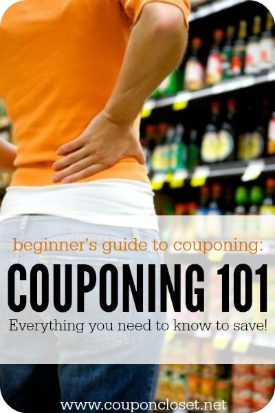 Couponing 101: Your Beginner's guide to couponing