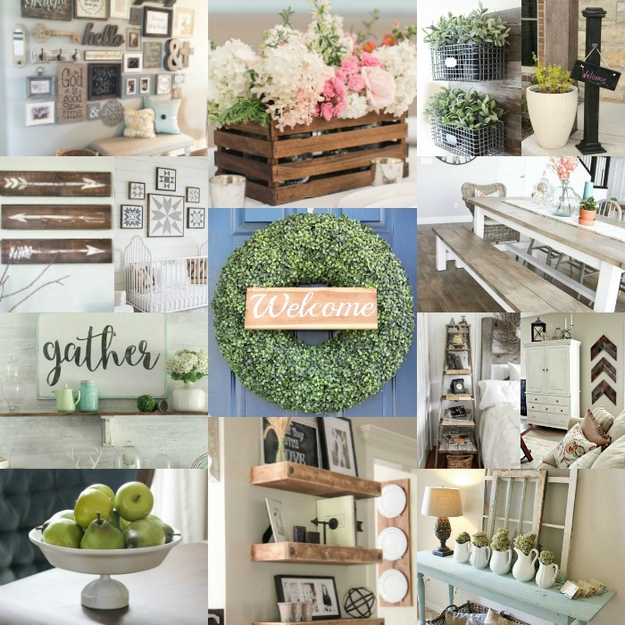 DIY Farmhouse Decor Ideas - 20 Easy Farmhouse Decor Ideas