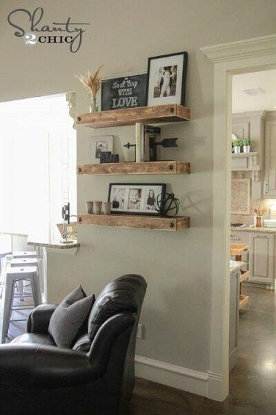 Diy Floating Shelves Easy