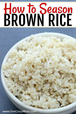 Find out how to season brown rice and turn boring rice into something everyone will love! Try the best seasoned brown rice recipes that you can also freeze.