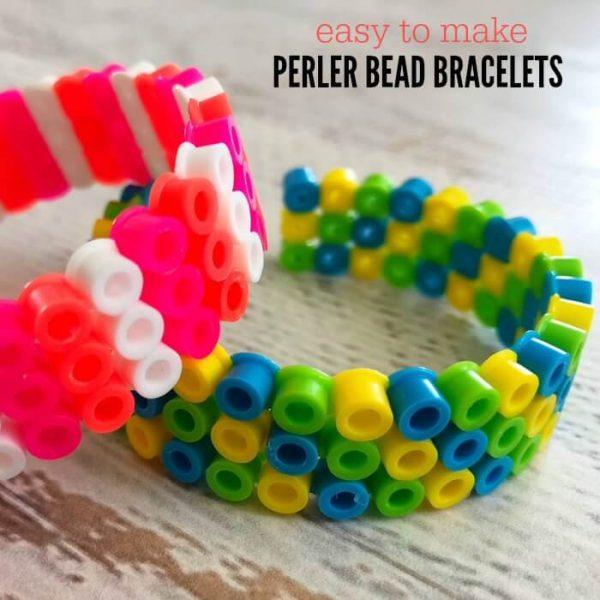 How to make Perler Beads Bracelets