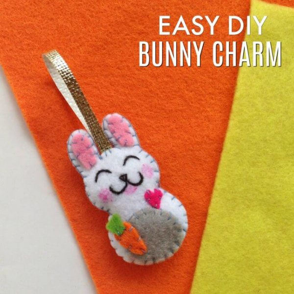 Easy Bunny Craft – How to make a Bunny Charm