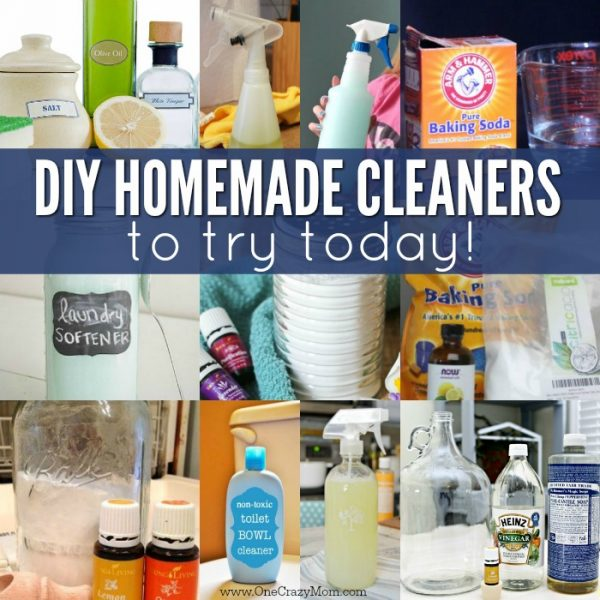 20 Homemade Cleaners That really work!