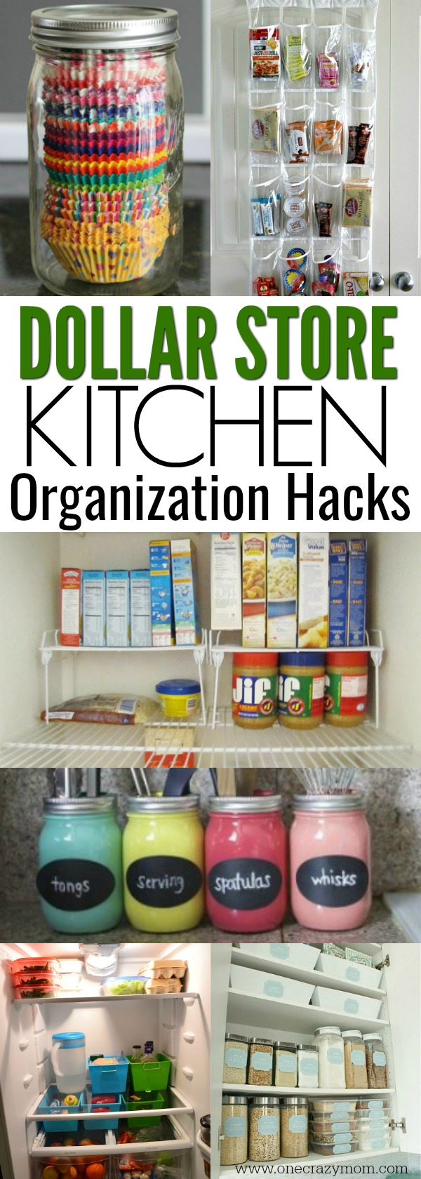Dollar Store Kitchen Organization Ideas 20 Clever Ideas