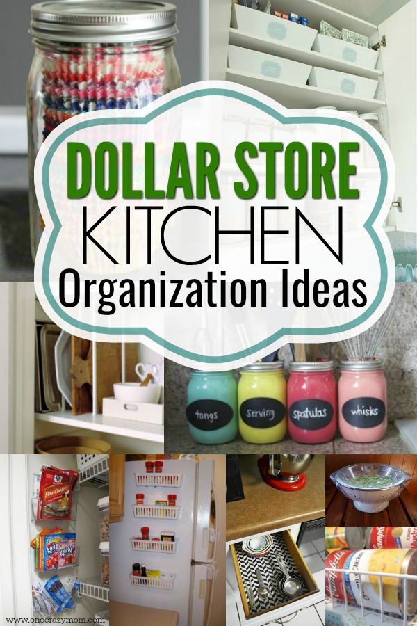 dollar store diy organization dollar kitchen organization ideas 21 clever ideas 10803