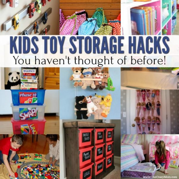 15 Easy Kids Toy Storage Ideas
