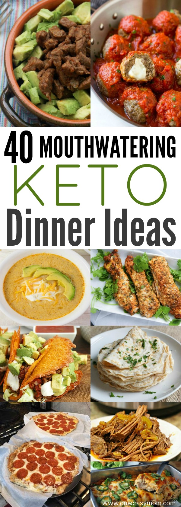 Easy Keto Dinner Ideas. 40 easy Keto dinner recipes that you will love. Keto meal ideas that won't break the bank. These easy Keto recipes are so tasty! Try Ketogenic recipes.