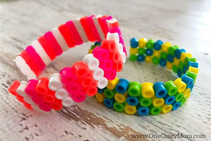 Learn how to make perler beads bracelets. It's so easy to make DIY Perler Beads Bracelets. The entire family will have a blast making Perler Bead crafts. Find perler bead ideas for hours of fun!