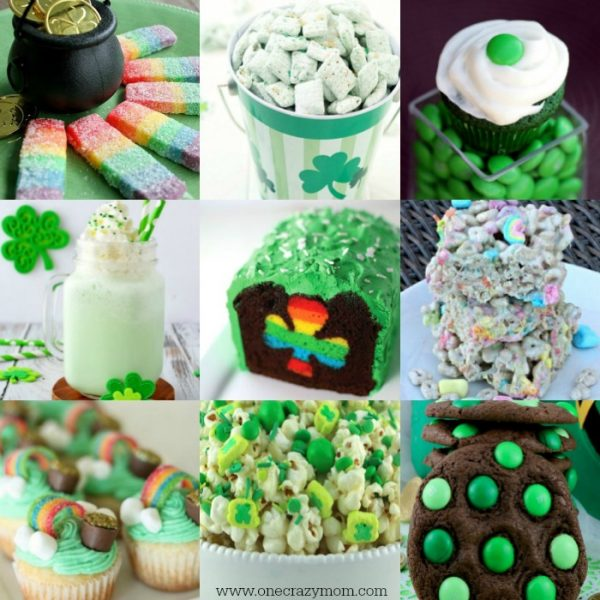 15+ Fun St. Patrick's Day Desserts for the whole family